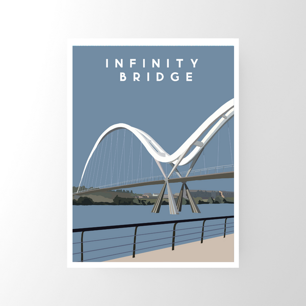 Infinity Bridge, Stockton Print