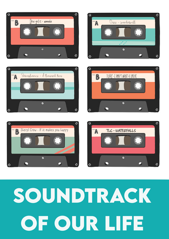 Personalised Soundtrack Print