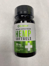 Load image into Gallery viewer, Hemp Softgels 300 mg 30ct