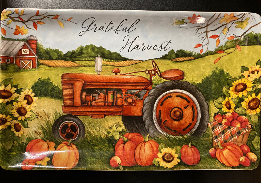 Grateful Harvest Farm Plate