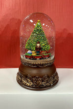 Load image into Gallery viewer, Jingle Bell Playing Christmas Snow Globe
