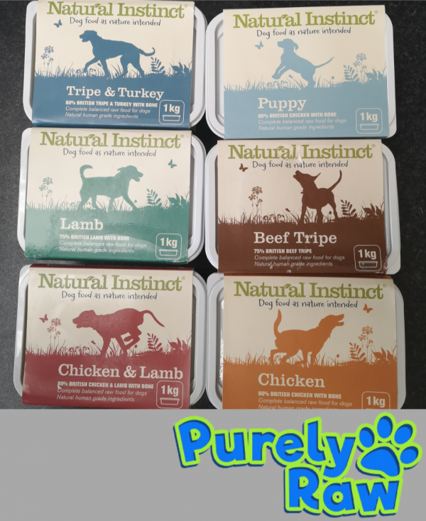 Natural Instinct Dog Completes (1kg)