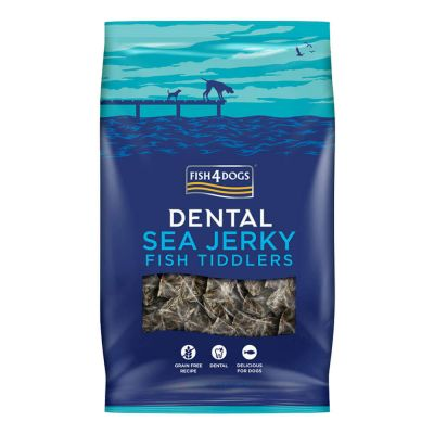 Fish4Dogs - Sea Jerky Fish Tiddlers 100g