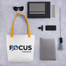 Load image into Gallery viewer, Focus Finance Tote bag