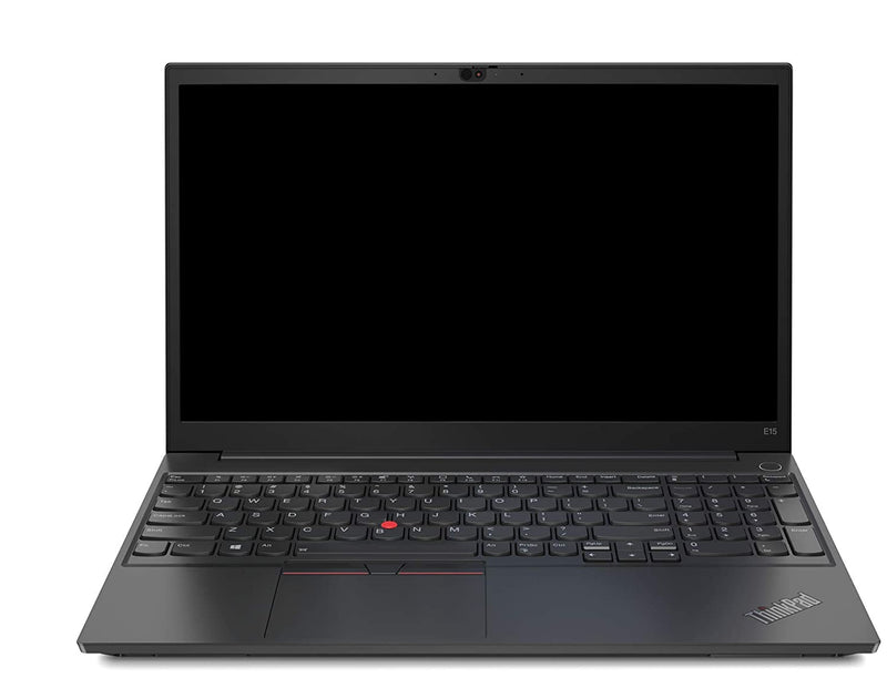 Lenovo ThinkPad E15-20RD008NUE Laptop with Intel Core i7-10510U Processor / 8GB RAM / 512GB SSD / 15.6-Inch FHD Display / FPR / DOS / 2GB AMD Radeon RX640 Graphics / Black / 1 Year Warranty