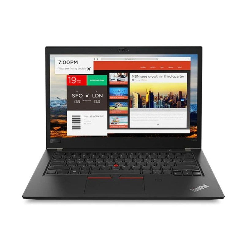 "LENOVO THINKPAD X280 (20KF001YAD) i5-8250U-1.6GHz, 8GB, 256GB SSD, 12.5"" HD Windows 10 Professional - Black"