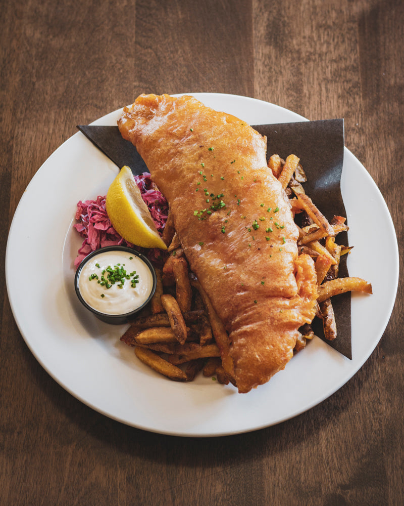 Fish & Chips (Special House battered and fried Haddock)