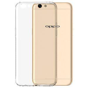 Shockproof Gel Case Clear - Oppo R9S