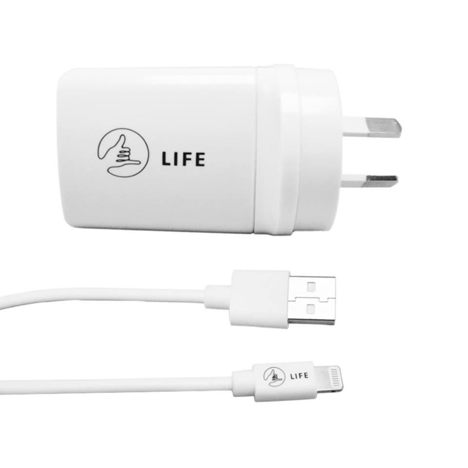 ESSENTIAL AC Charger (Lightning Cable - Apple Products)