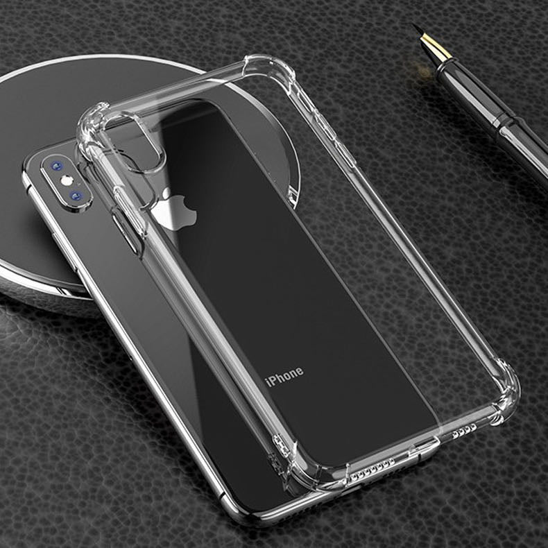 Shockproof Gel Case Clear - iPhone 12 Pro Max