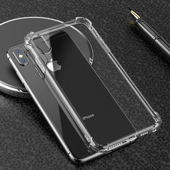 Shockproof Gel Case Clear - iPhone 12 6.7""