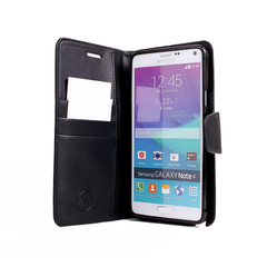 EVERYDAY Leather Wallet Phone Cover – Samsung Galaxy Note 4