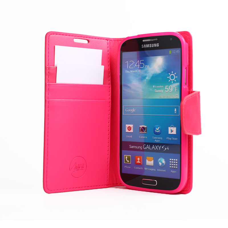 EVERYDAY Leather Wallet Phone Cover – Samsung Galaxy S4