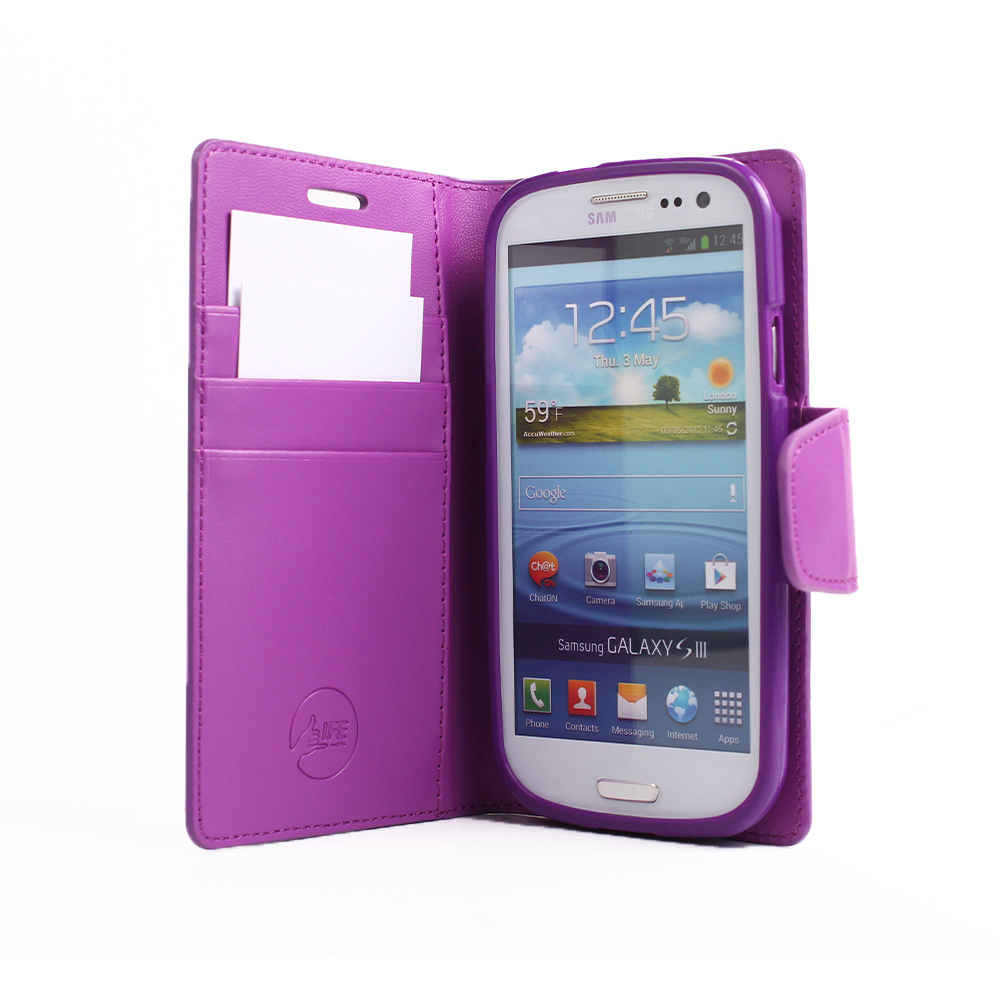 EVERYDAY Leather Wallet Phone Cover – Samsung Galaxy S3