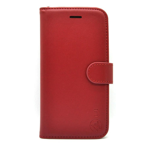 EVERYDAY Leather Wallet Phone Cover - iPhone X / XS 5.8""