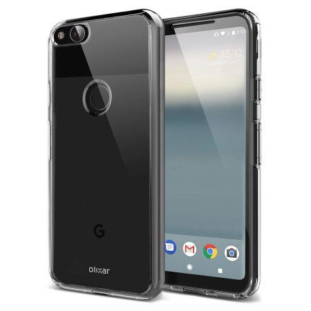 EQUAL Gel Case Clear - Google Pixel 2