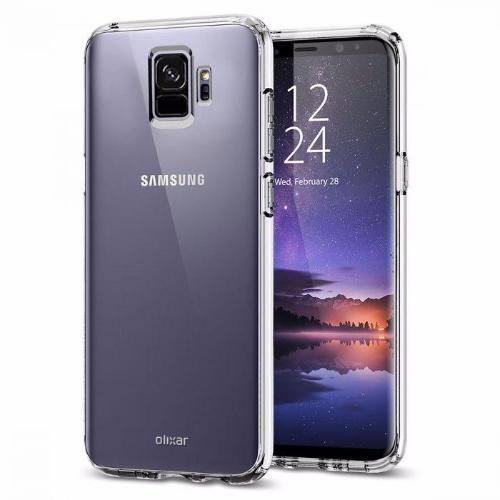 EQUAL Gel Case Clear - Samsung Galaxy S9