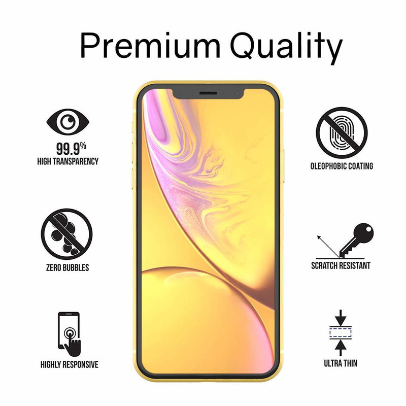 WhiteStone UV Full Glue Dome Glass - for iPhone XR