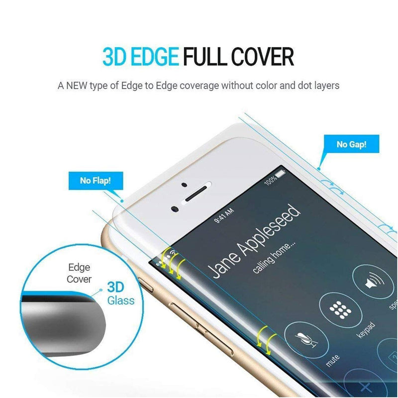 WhiteStone UV Full Glue Dome Glass - for iPhone 6/7/8