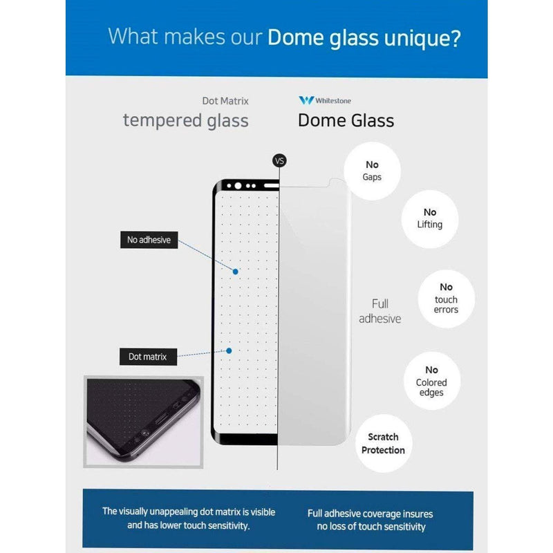 WhiteStone UV Full Glue Dome Glass - for iPhone 6/7/8 Plus