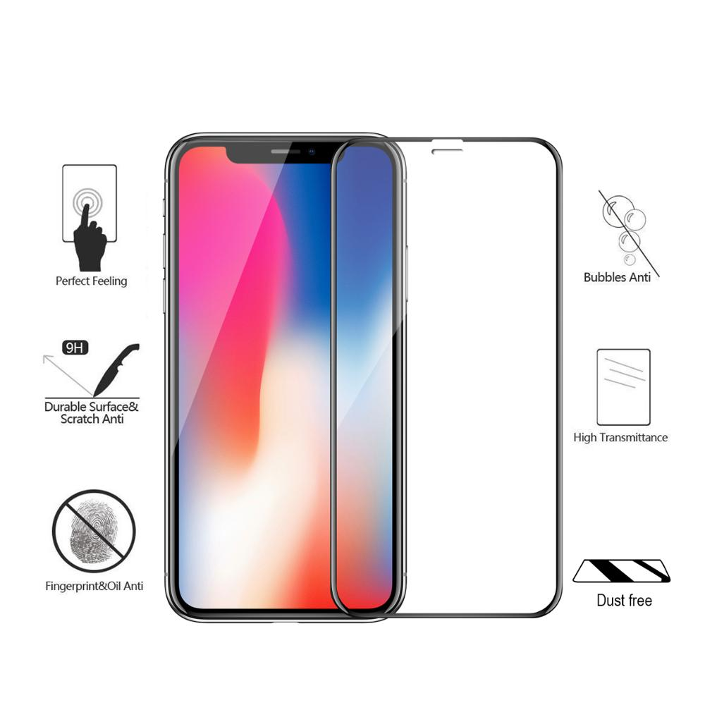 ESSENTIAL 3D Tempered Glass iPhone X / XS 5.8""