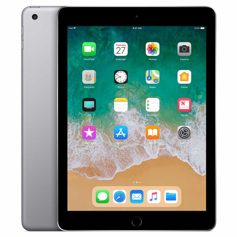 Apple iPad 5th Gen WiFi + Cellular 32GB PreOwned