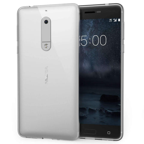 Ultra Thin Gel Case Clear - Nokia 5