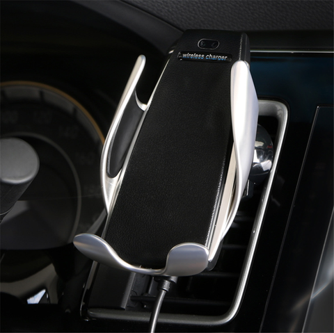 S5 Smart Sensor Car Wireless Charger Air Outlet