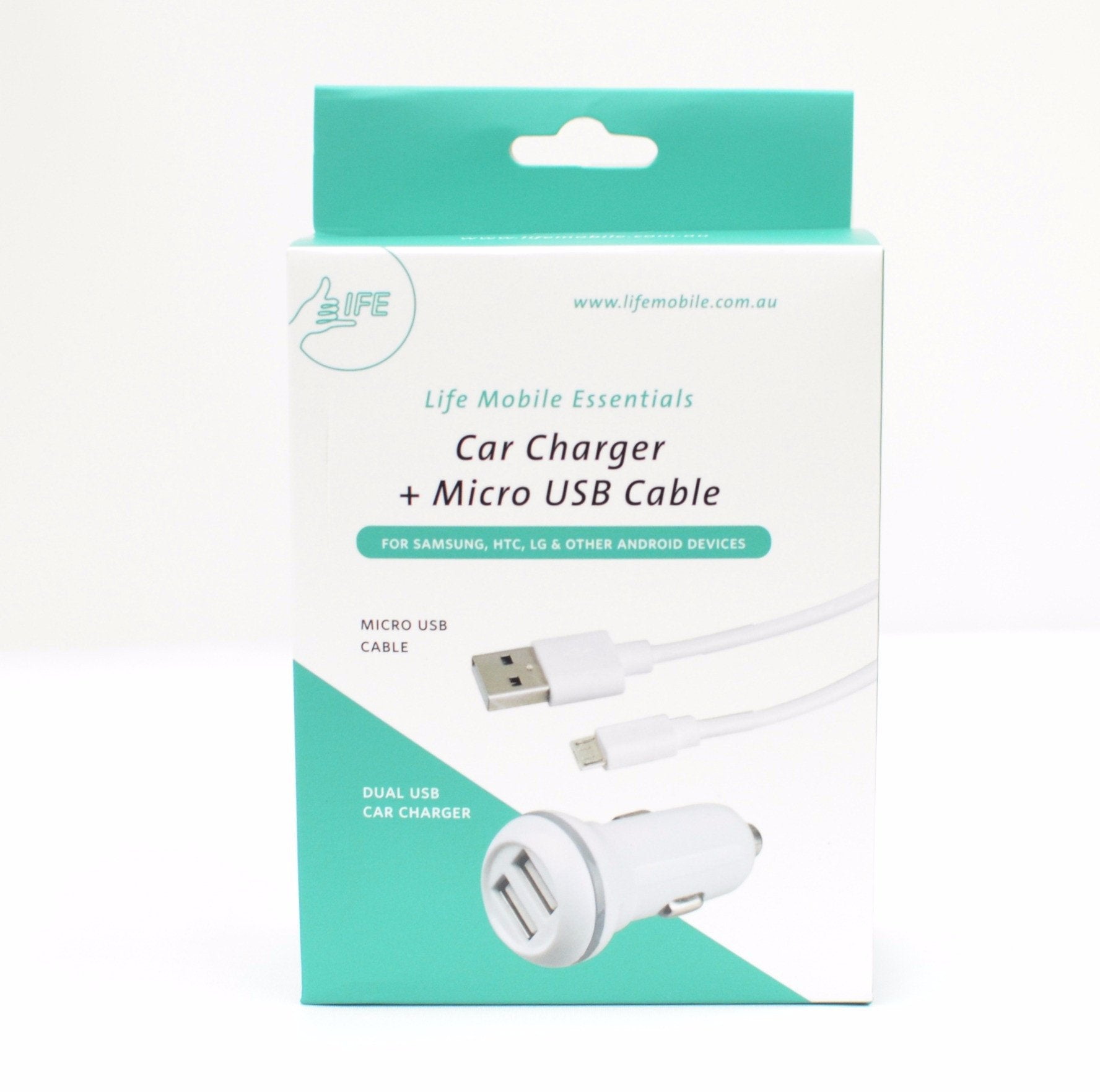 ESSENTIAL Car Charger (Micro USB)