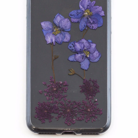 FLORAL PRESS Violet Bloom