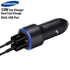 Samsung Dual Fast Charge Car Charger 15W