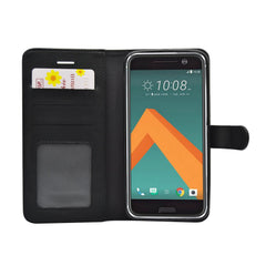 EVERYDAY Leather Wallet Phone Cover - HTC One M10