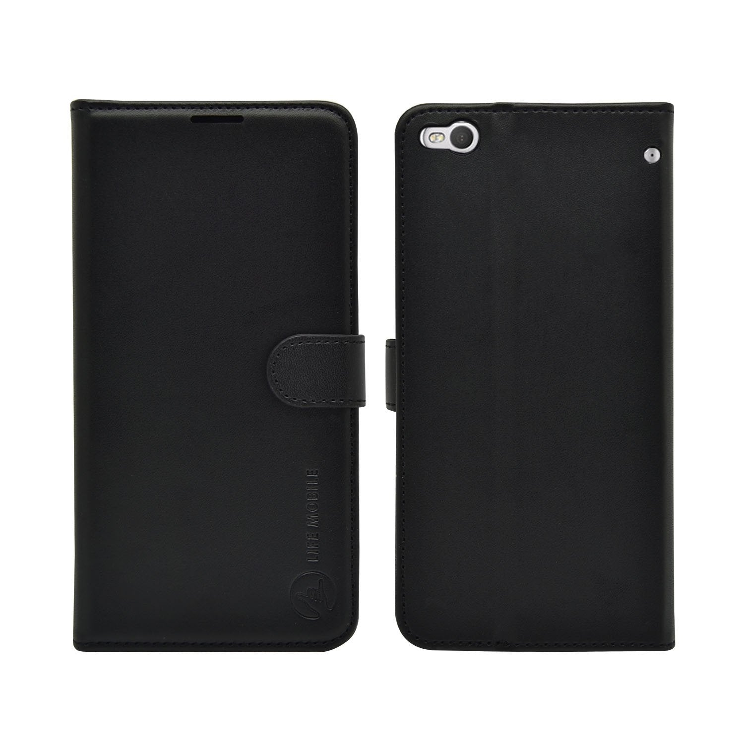 EVERYDAY Leather Wallet Phone Cover - HTC X9