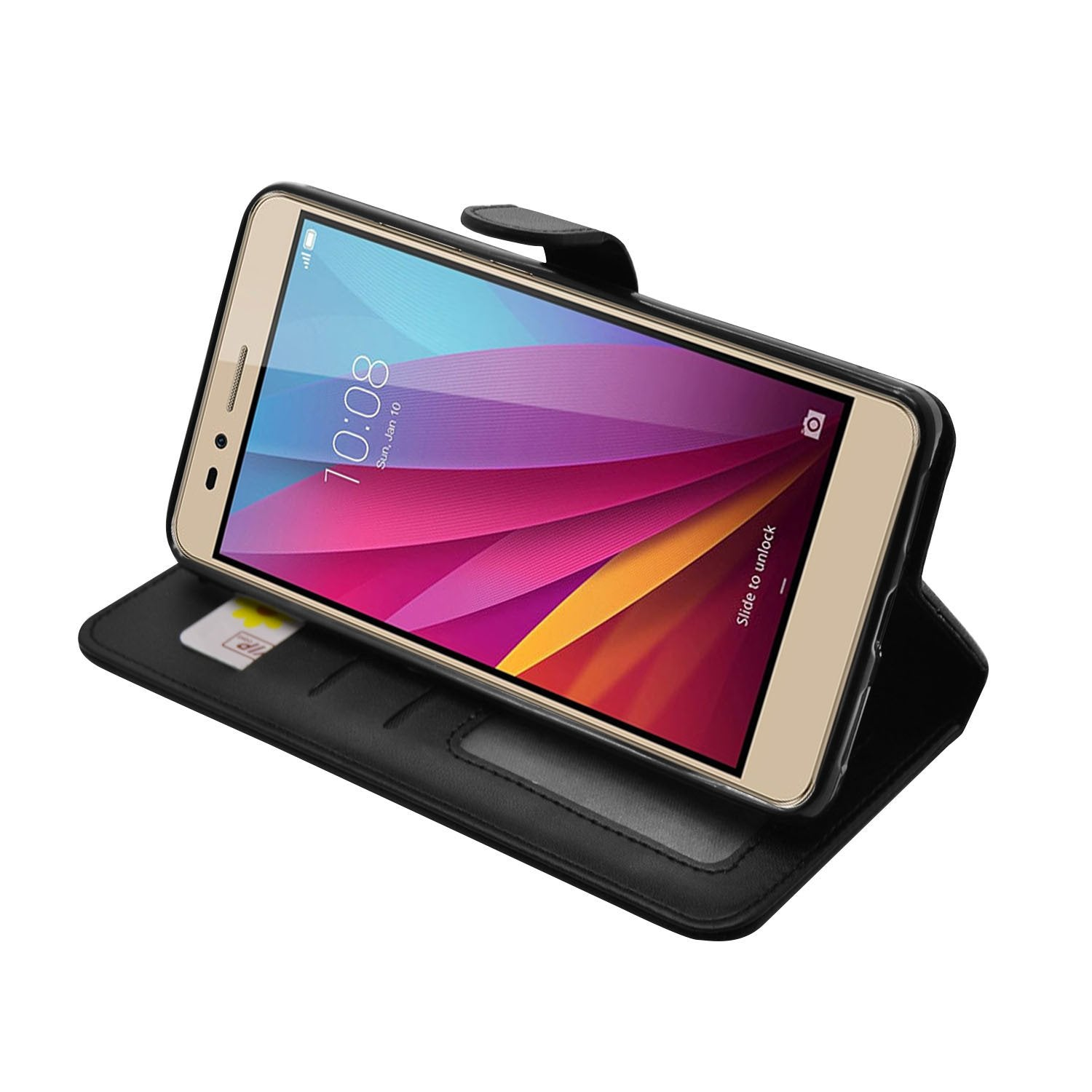 size 40 8c5b5 43357 EVERYDAY Leather Wallet Phone Cover – Huawei GR5 (2017)