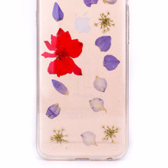 FLORAL PRESS Larkspur Violet
