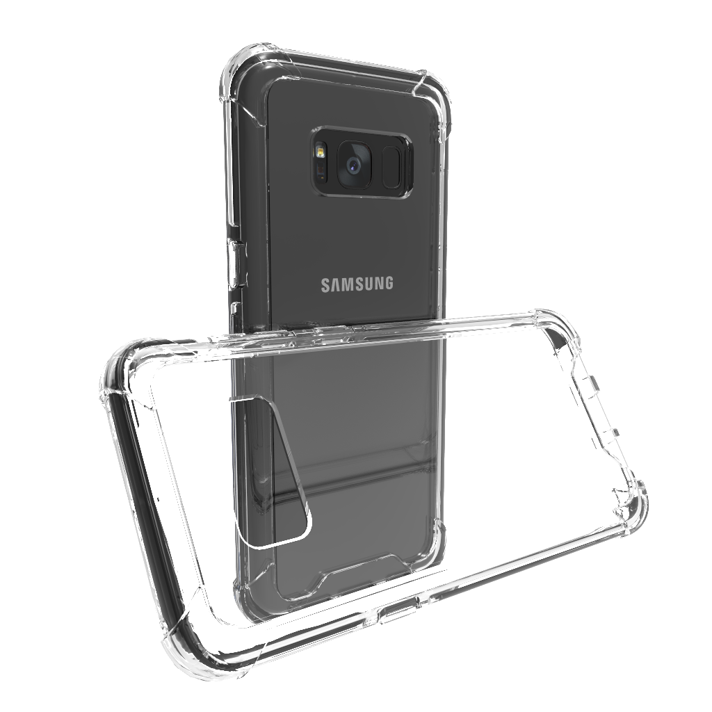 Hybrid Tough Shockproof Case - Samsung Galaxy S8 Plus