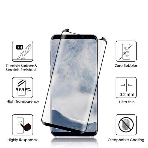 ESSENTIAL 3D Tempered Glass Samsung Galaxy S9 (FULL GLUE)