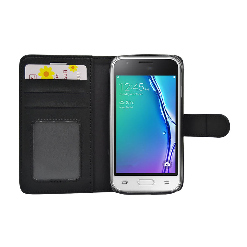 EVERYDAY Leather Wallet Phone Cover – Samsung Galaxy J1 (2016)
