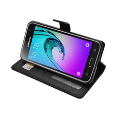 EVERYDAY Leather Wallet Phone Cover – Samsung Galaxy J3