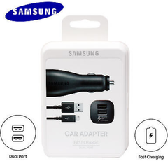 Samsung Fast Charging Dual Car Charger (Micro USB)