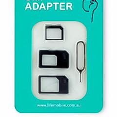 ESSENTIALS 4-in-1 SIM Adaptor