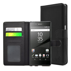 EVERYDAY Leather Wallet Phone Cover – Sony Xperia Z5