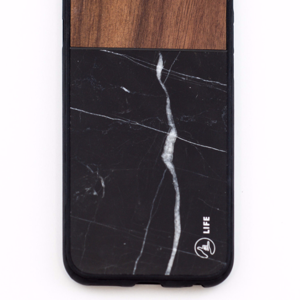 The Marble Edition Walnut Marmo