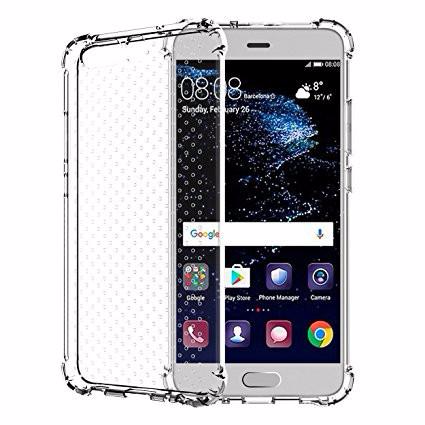 Shockproof Gel Case Clear - Huawei P10 Plus