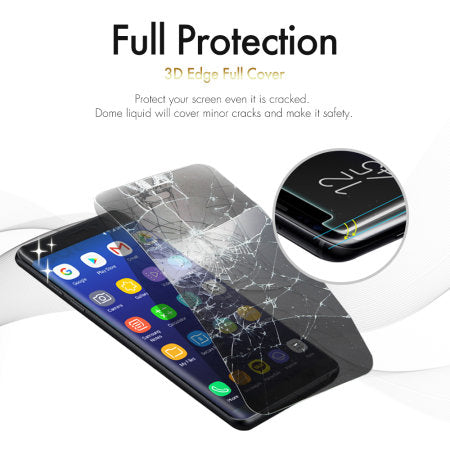 WhiteStone UV Full Glue Dome Glass - for Samsung S9