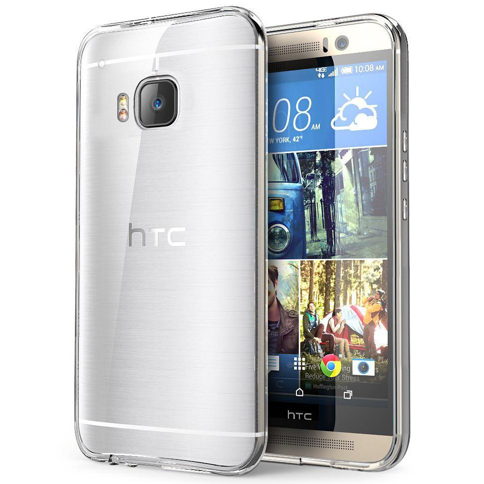 EQUAL Gel Case Clear - HTC M9