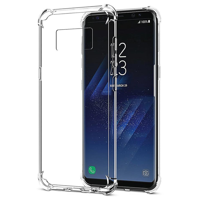 Shockproof Gel Case Clear - Samsung Galaxy S8