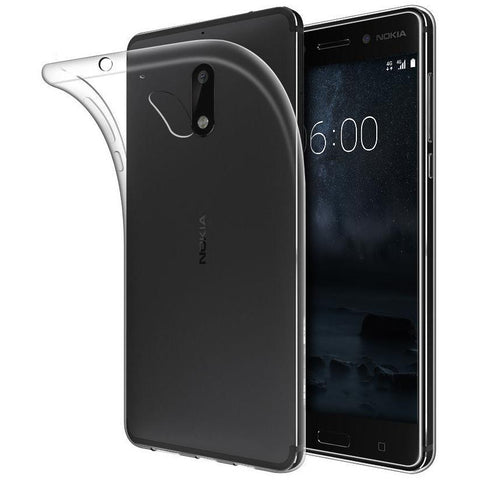EQUAL Gel Case Clear - Nokia 6