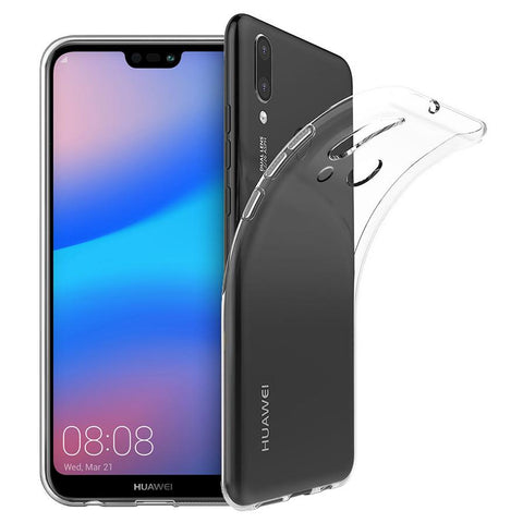 EQUAL Thin Gel Case Clear - Huawei Nova 3e