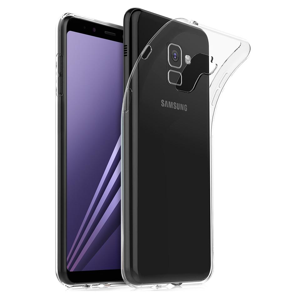 Ultra Thin Gel Case Clear - Samsung Galaxy A8